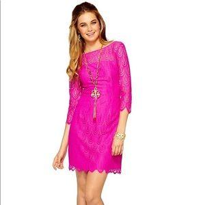 Lilly Pulitzer Hera Dress in Magenta